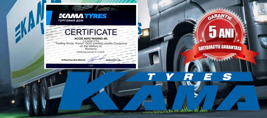 Anvelope de camion KAMA