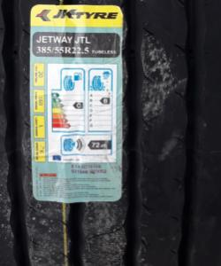 JK Tyre 385/65R22.5 JTL 20PR K TL