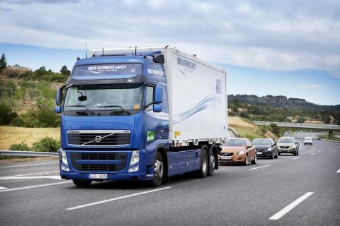 Convoi de masini fara sofer pe drumurile britanice