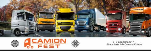 Targul de camioane rulate Camion Fest